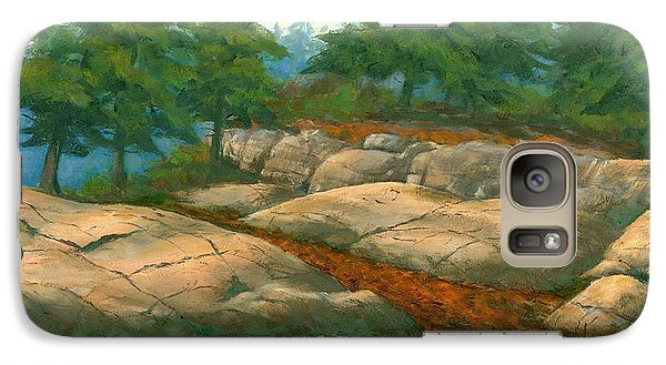 Galaxy Case featuring the painting North Shore by Michael Swanson