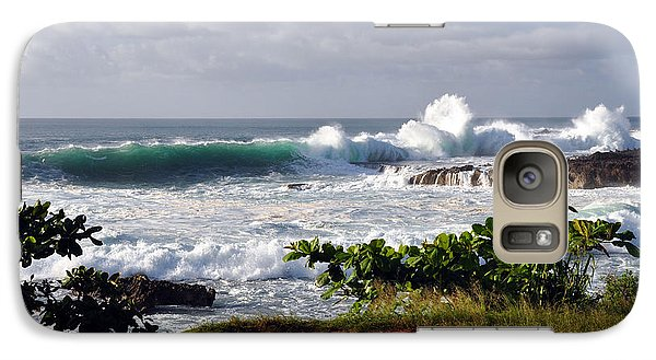 Galaxy Case featuring the photograph North Shore Oahu by Gina Savage