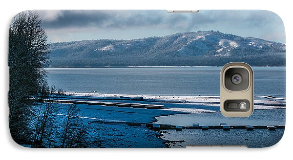 Galaxy Case featuring the photograph North Shore Winter Blues by Jan Davies