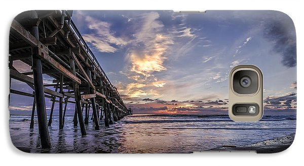 Galaxy Case featuring the photograph North Side by Sean Foster