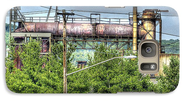 Galaxy Case featuring the photograph Northcountry Industrial by MJ Olsen