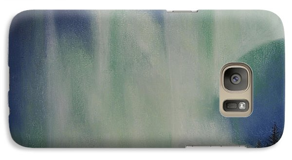Galaxy Case featuring the painting Northern Angel Bird by Stanza Widen