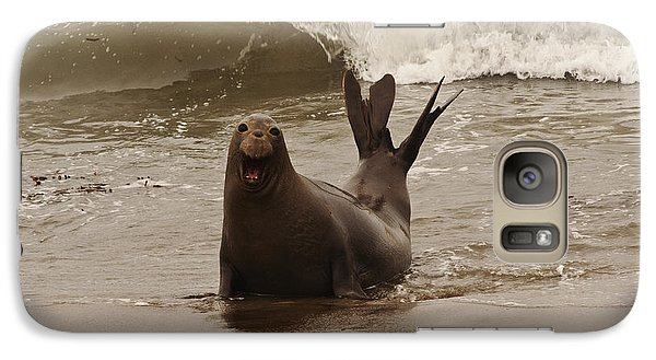 Galaxy Case featuring the photograph Northern Elephant Seal by Lee Kirchhevel