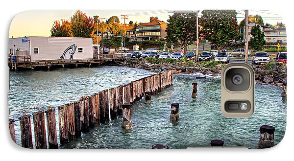 Galaxy Case featuring the photograph Northern Fish Co. Old Town Tacoma Wa by Rob Green