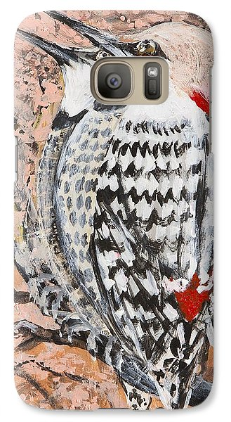 Galaxy Case featuring the painting Northern Flickers by Cathy Long