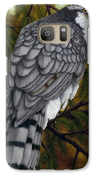 Northern Goshawk Galaxy S7 Case by Rick Bainbridge
