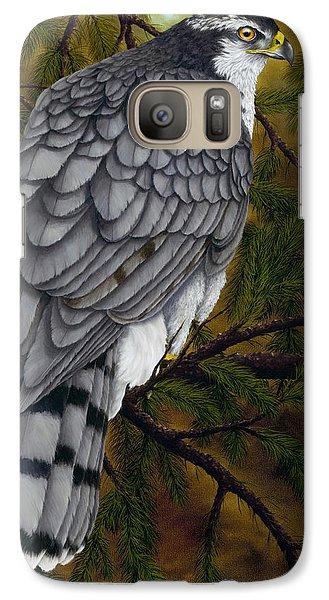 Northern Goshawk Galaxy S7 Case by Rick Bainbridge