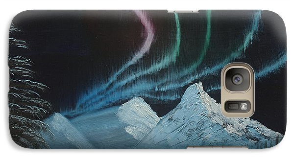 Galaxy Case featuring the painting Northern Lights by Ian Donley
