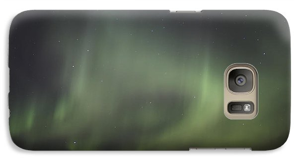 Galaxy Case featuring the photograph Northern Lights Over Wroxton by Ryan Crouse