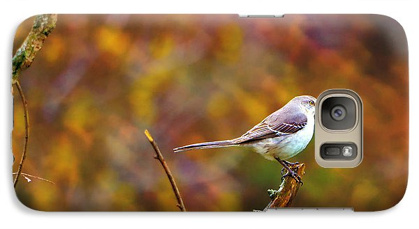 Galaxy Case featuring the photograph Northern Mockingbird by Deena Stoddard