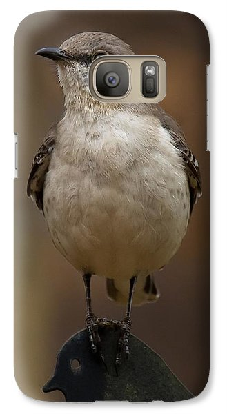 Galaxy Case featuring the photograph Northern Mockingbird by Robert L Jackson