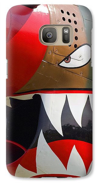 Galaxy Case featuring the photograph Nose Art I by Timothy McIntyre