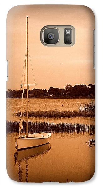 Galaxy Case featuring the photograph Nostalgic Summer by Laurie Perry