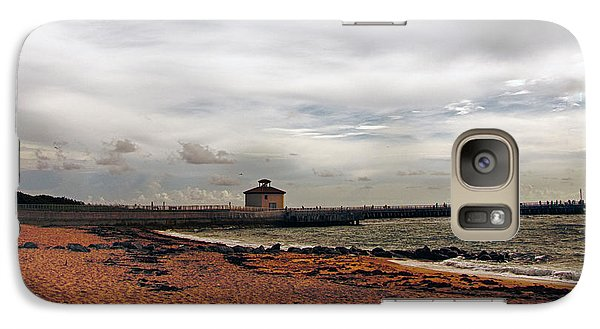 Galaxy Case featuring the photograph Not A Beach Day by Don Durfee