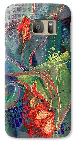 Galaxy Case featuring the painting Not Destroyed by Susan Will