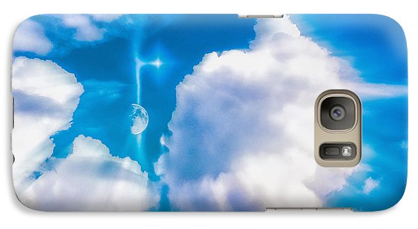 Galaxy Case featuring the photograph Not Just Another Cloudy Day by Kellice Swaggerty