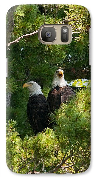 Galaxy Case featuring the photograph Not Listening by Brenda Jacobs