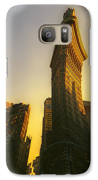 Galaxy Case featuring the photograph Not So Flat by David Klaboe