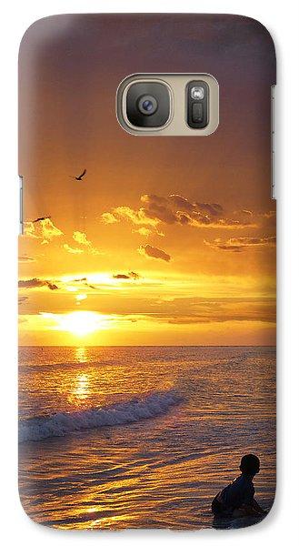 Not Yet - Sunset Art By Sharon Cummings Galaxy S7 Case