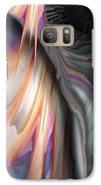 Galaxy Case featuring the digital art Note For Note by Steve Sperry