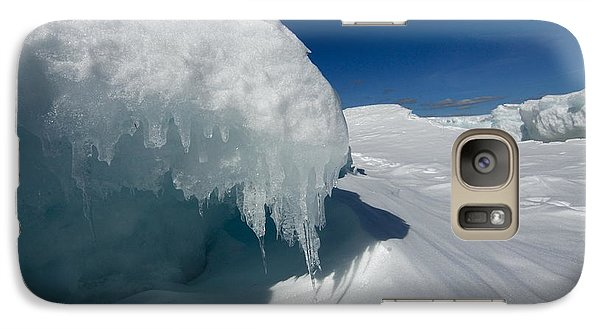 Galaxy Case featuring the photograph Nothing But Ice by Sandra Updyke
