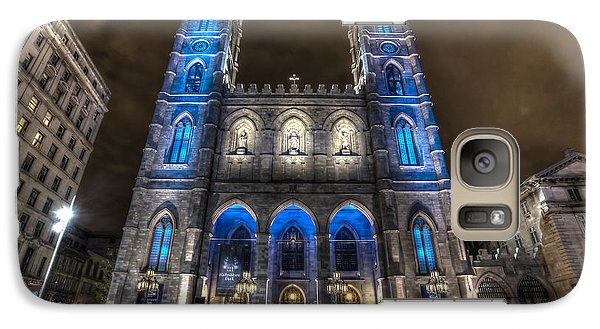 Galaxy Case featuring the photograph Notre Dame Basilica In Montreal by Shawn Everhart