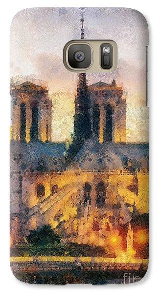 Mo Galaxy S7 Case - Notre Dame De Paris by Mo T