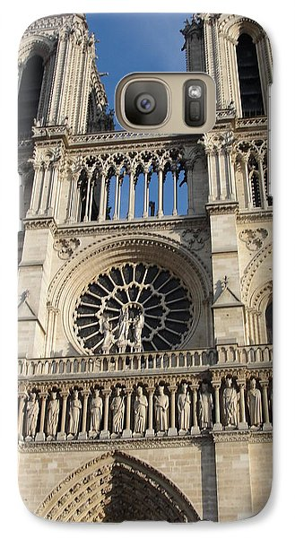 Galaxy Case featuring the photograph Notre Dame by Tiffany Erdman