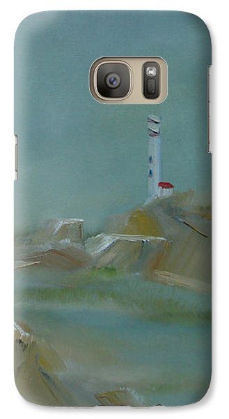 Galaxy Case featuring the painting Nova Scotia Fog by Judith Rhue