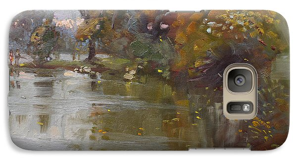 November 4th At Hyde Park Galaxy S7 Case by Ylli Haruni