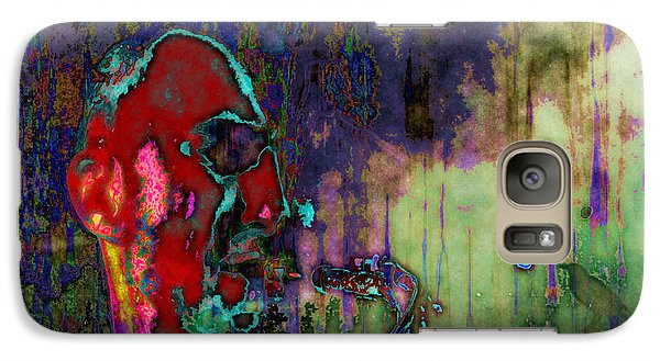 Galaxy Case featuring the digital art November Coming by Mojo Mendiola