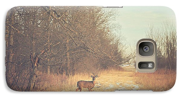 November Deer Galaxy S7 Case