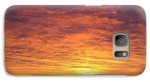 Galaxy Case featuring the photograph November Morn by J L Zarek