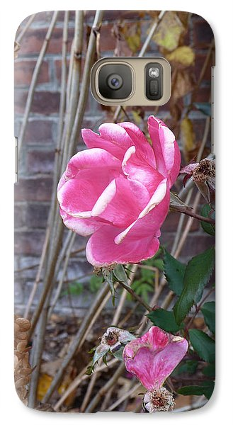 Galaxy Case featuring the photograph November Rose by Margie Avellino