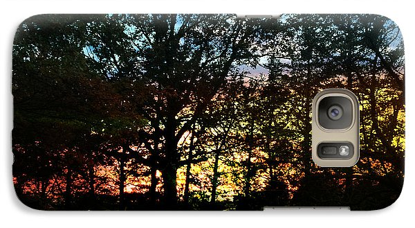 Galaxy Case featuring the photograph November Sunset by Rod Seel