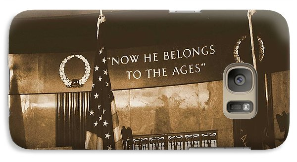 Galaxy Case featuring the photograph Now He Belongs To The Ages by Luther Fine Art