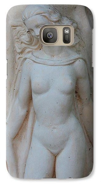 Galaxy Case featuring the photograph Nude Lady Statue by Cynthia Snyder