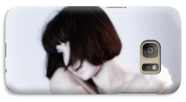 Galaxy Case featuring the photograph Nude White  by Jacob Smith