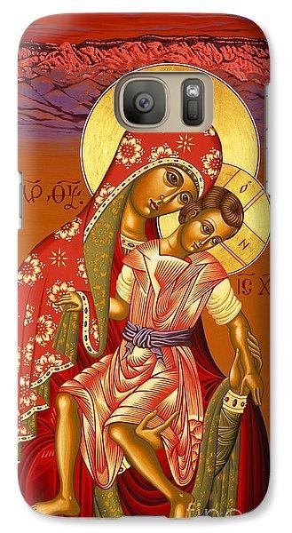 Galaxy Case featuring the painting Nuestra Senora De Las Sandias 008 by William Hart McNichols