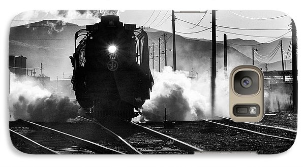 Galaxy Case featuring the photograph Number 844 Pulling Out by Vinnie Oakes