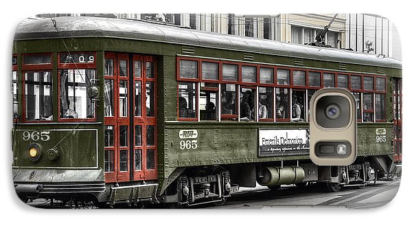 Galaxy Case featuring the photograph Number 965 Trolley by Tammy Wetzel