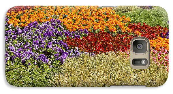 Galaxy Case featuring the photograph Nursery Potted Garden Plants Arrangement by JPLDesigns