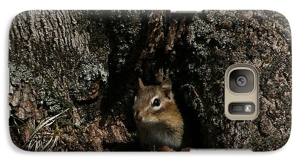 Galaxy Case featuring the photograph Nut Therapy  by Neal Eslinger
