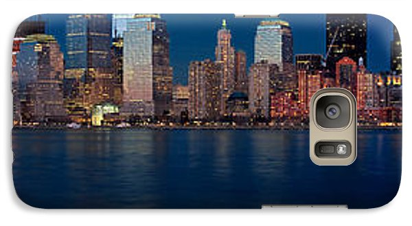 Galaxy Case featuring the photograph Nyc Pano by Jerry Fornarotto