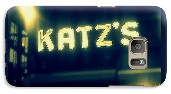 Nyc's Famous Katz's Deli Galaxy S7 Case