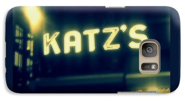 Nyc's Famous Katz's Deli Galaxy Case by Paulo Guimaraes