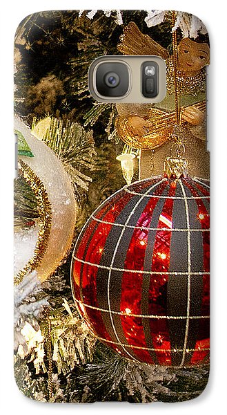 Galaxy Case featuring the photograph O Christmas Tree by Victoria Harrington