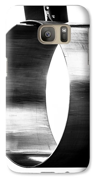 Galaxy Case featuring the photograph O by Darryl Dalton