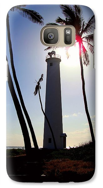 Galaxy Case featuring the photograph Oahu Lighthouse by Kara  Stewart