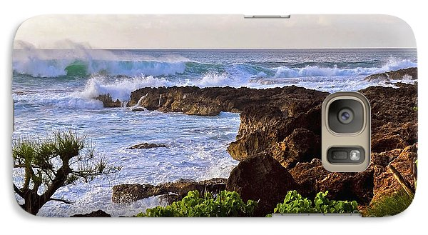 Galaxy Case featuring the photograph Oahu's Northshore by Gina Savage